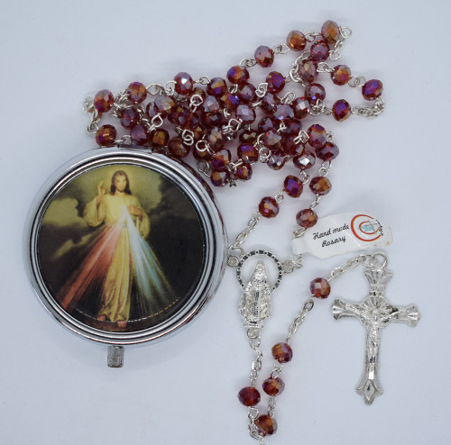 LCT-CD Divine Mercy rosary, box