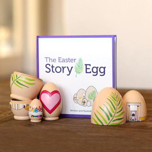LCT - Easter story egg