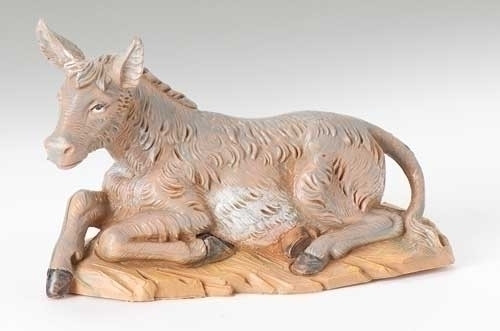 "Seated Donkey from the 5"" Fontanini Collection"