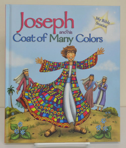 """Joseph and his Coat of Many Colors, 23 page hb book, 9"""" x 7.5"""""""