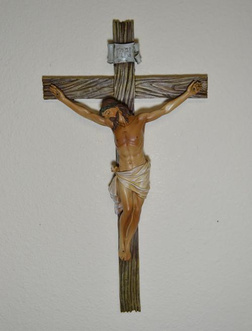 """Renaissance Crucifix by Joseph's Studio - 13.75"""""""