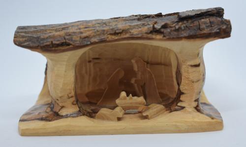 Sm  olivewood nativity -1