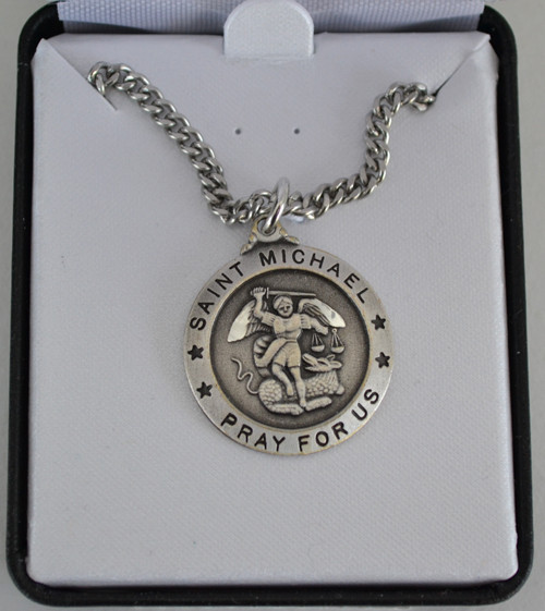Large St Michael Medal