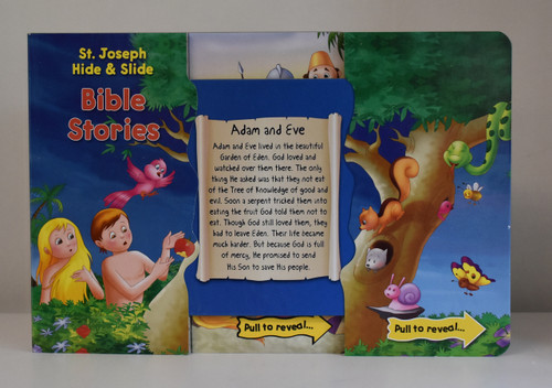 H.S Bible Stories page open