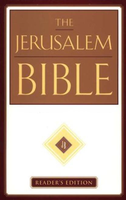 Jerusalem Bible, Reader's Edition, Imprimatur of the Roman Catholic Church, HB