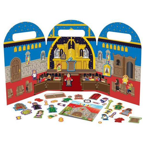 38 piece church set -1