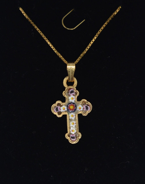 small mosaic cross