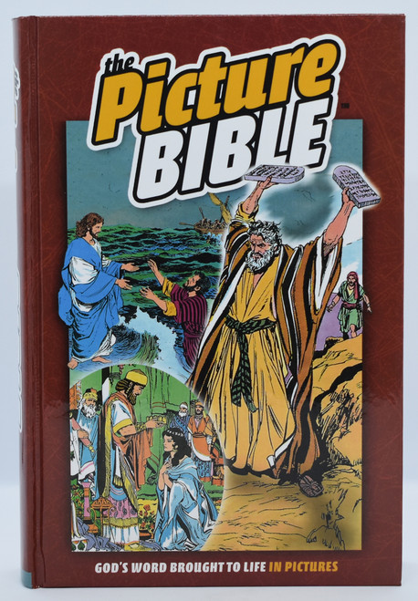 Picture Bible, closed