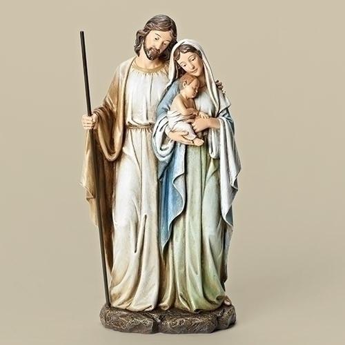 "Holy Family Figurine from Joseph's Studio, 12"""