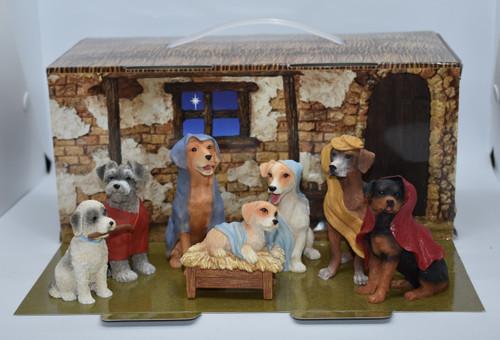 canine nativity - 1