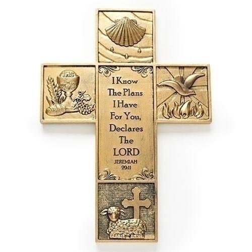 Multi Sacrament wall cross