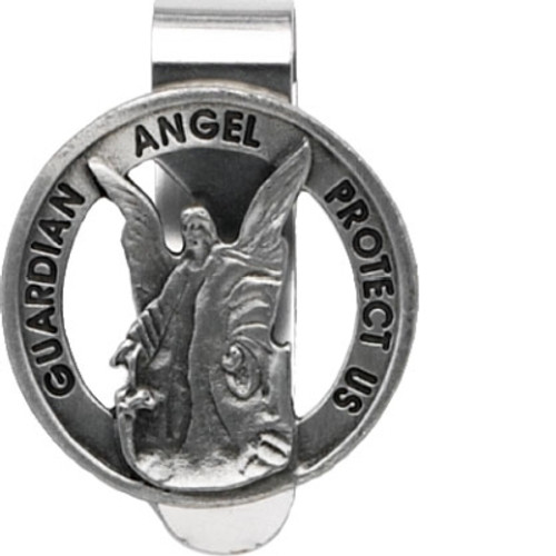 Lisa's Catholic Treasures, CA Gift Guardian Angel Visor Clip