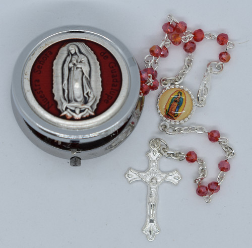 Lisa's Catholic Treasures, Our Lady of Guadalupe Small Box, Contreras, 2