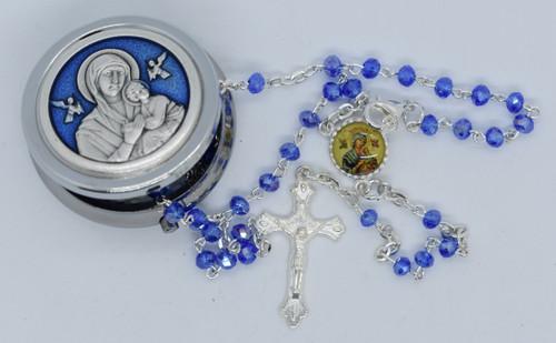 Lisa's Catholic Treasures, OLO Perpetual Help Rosary & Box, Contreras 2