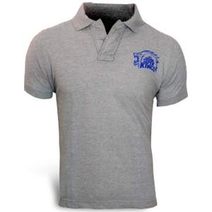Chennai Super Kings Grey Polo T-shirt
