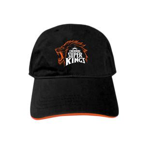 Chennai Super Kings Embroidered Fan Cap