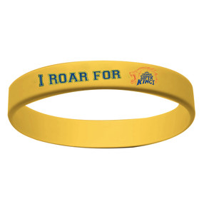 CHENNAI SUPER KINGS  - YELLOW WRISTBAND