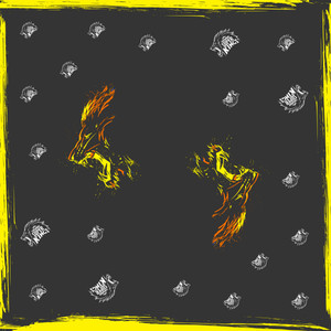 Chennai Super Kings Fury (Roaring Lion) Bandana