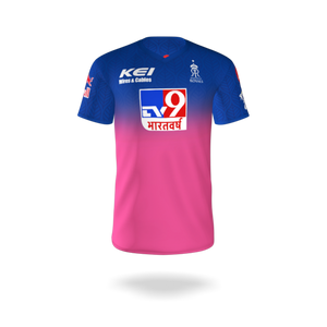 RAJASTHAN ROYALS OFFICIAL PLAYER JERSEY