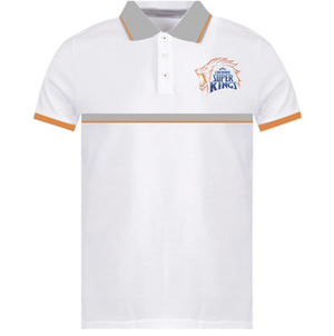 CHENNAI SUPER KINGS DAPPER LOOK POLO T-SHIRT
