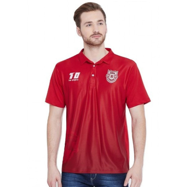 Punjab Kings Official Players Travel Polo 2019