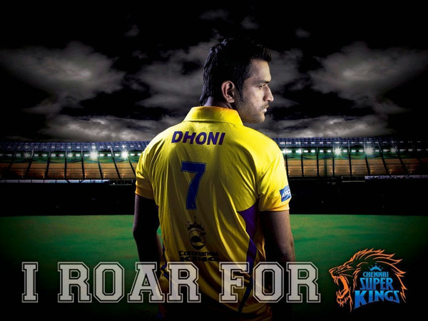CHENNAI SUPER KINGS - MAGNET - ROAR FOR THE KING