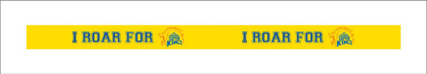 CHENNAI SUPER KINGS  - WRISTBAND