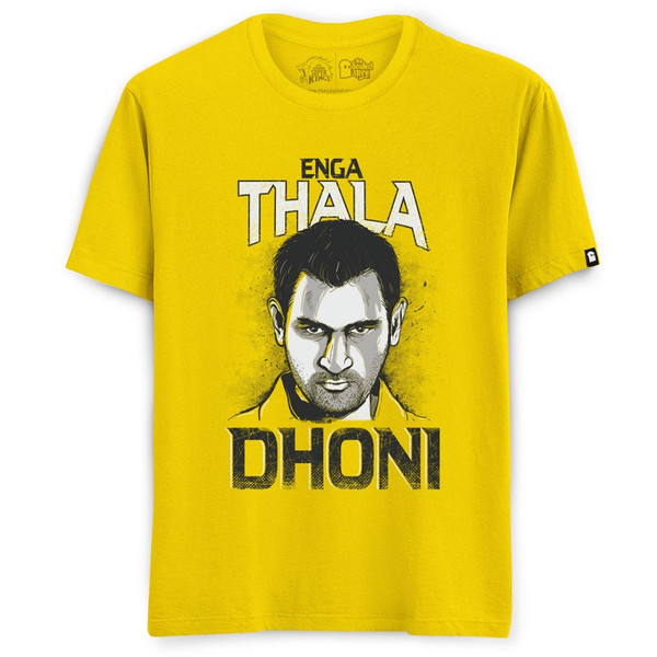 CHENNAI SUPER KINGS - THALA T-SHIRT