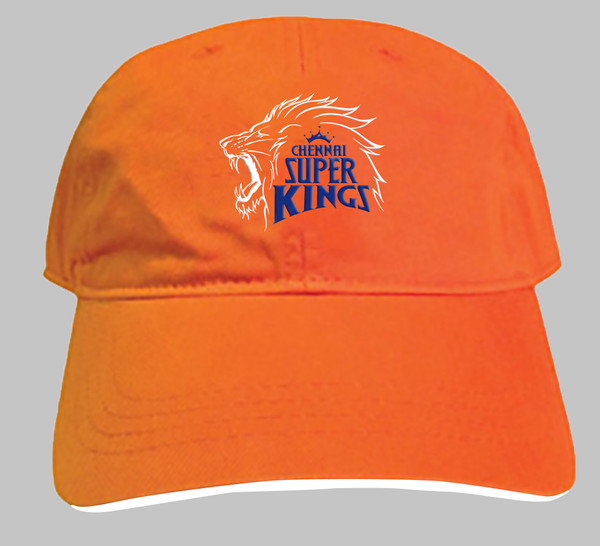 Chennai Super Kings Official Orange Fan Cap