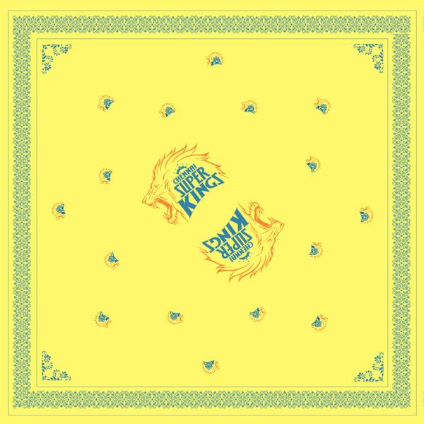 Chennai Super Kings Classic Yellow Bandana