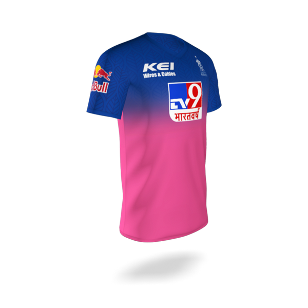 RAJASTHAN ROYALS OFFICIAL PLAYER JERSEY 2020