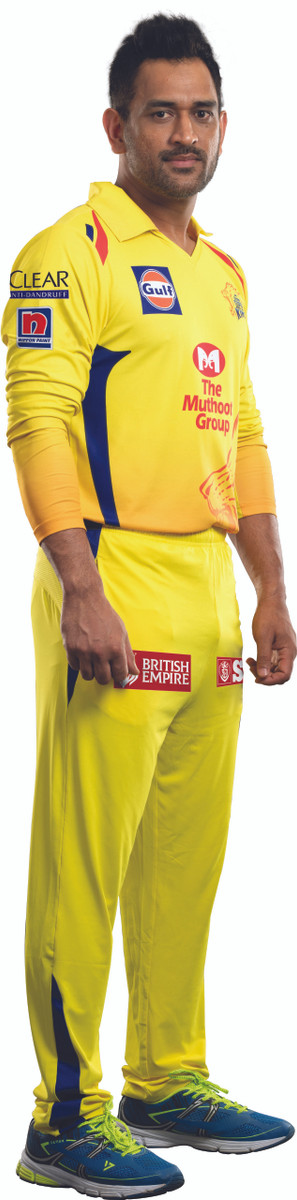 CHENNAI SUPER KINGS - OFFICIAL 2020 PLAYER JERSEY (FULL SLEEVE)