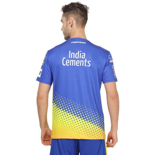 CHENNAI SUPER KINGS - OFFICIAL 2020 TRAINING JERSEY
