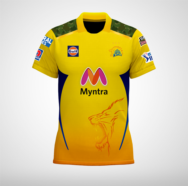 CHENNAI SUPER KINGS (2021) OFFICIAL PLAYER JERSEY