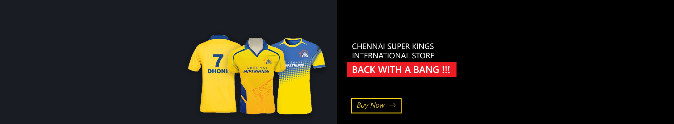 Chennai Super Kings Internation Store Back with a Bang!