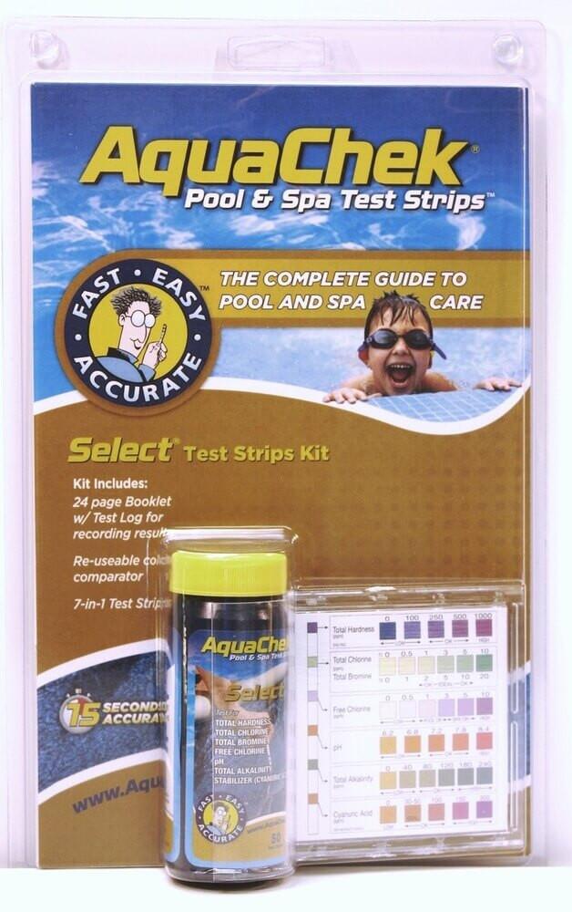 AquaChek Select 7-in-1 Test Kit  -  541604A