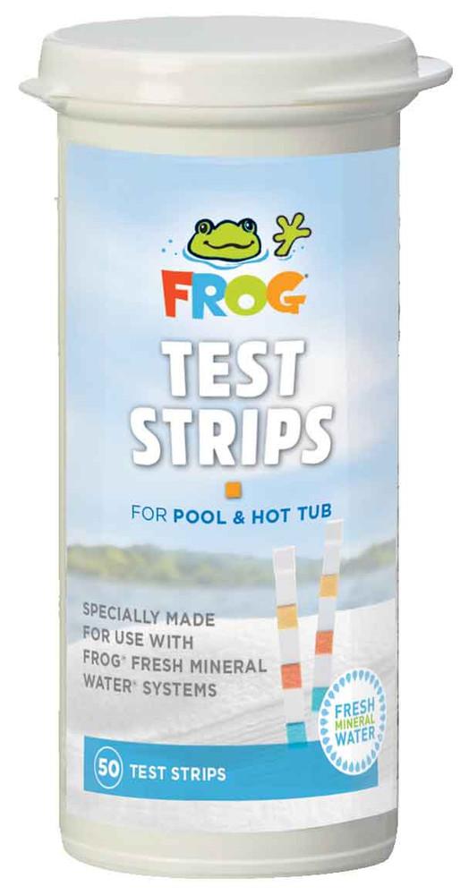 Frog Pool & Spa Test Strips  -  01-14-3318