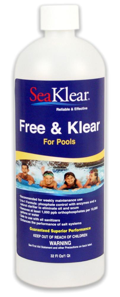 SeaKlear Free & Klear - 1 qt  -  1040400