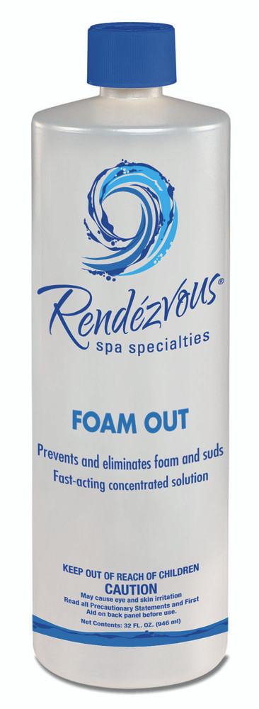Rendezvous Spa Specialties  Foam Out - 1 qt  -  106703