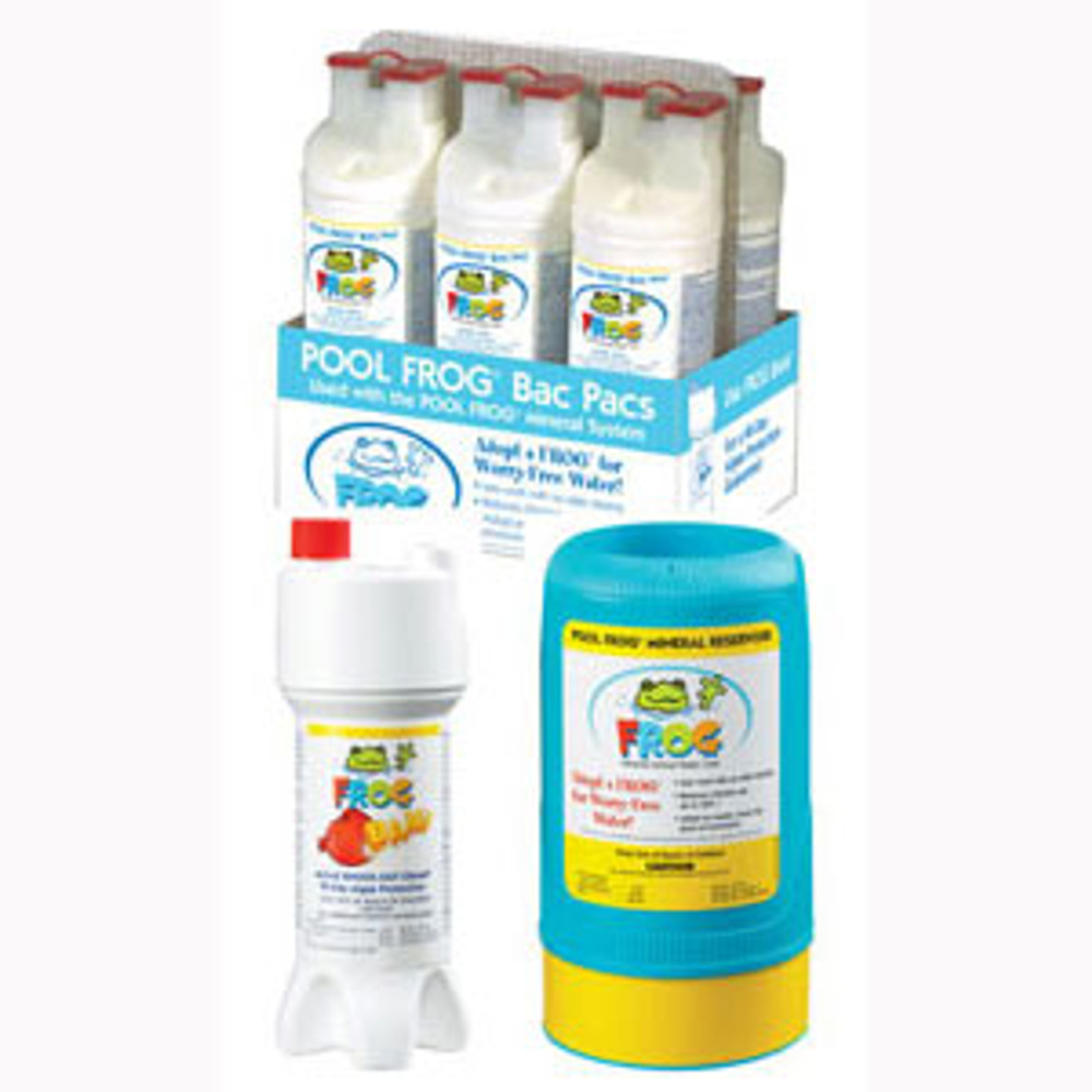 Pool Frog Series 6100 Kit I plus chlorine shock