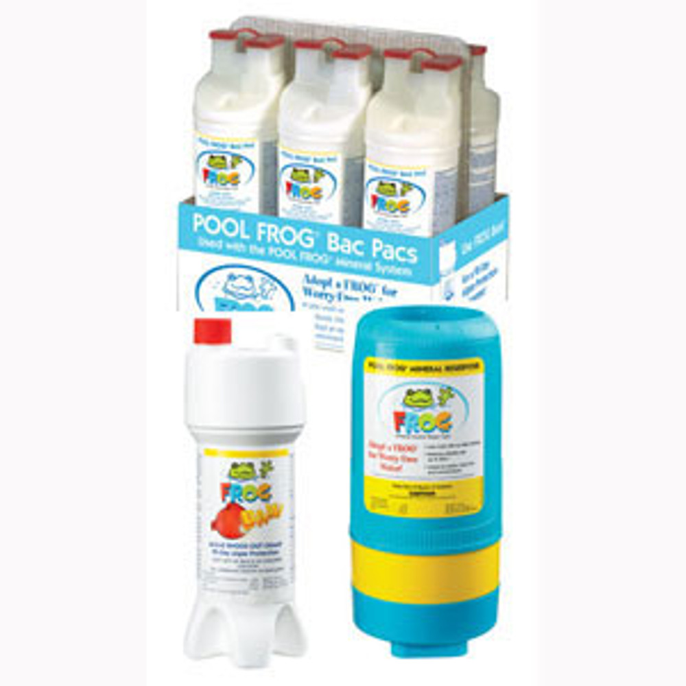 Pool Frog Series 5400 Kit I plus chlorine shock