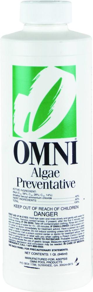 Omni Algae Preventative  -  1 qt  -  23040