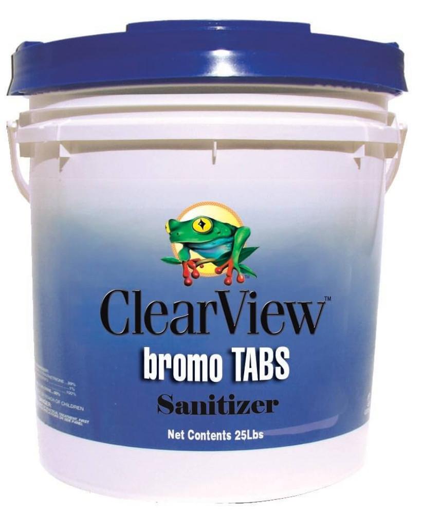 ClearView Bromo Tabs - 25 lb  -  CVBR025