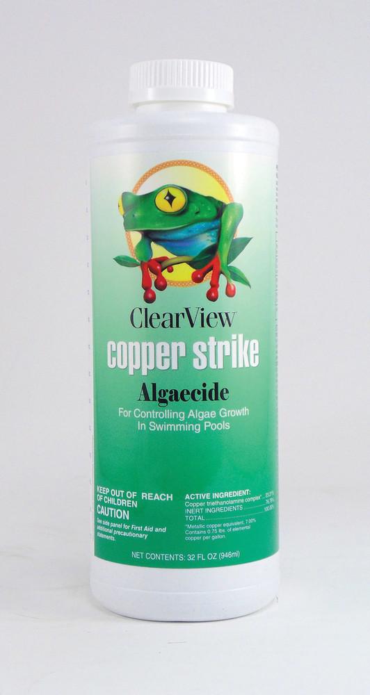 ClearView Copper STRIKE - 1 qt  -  CVLCSQT12