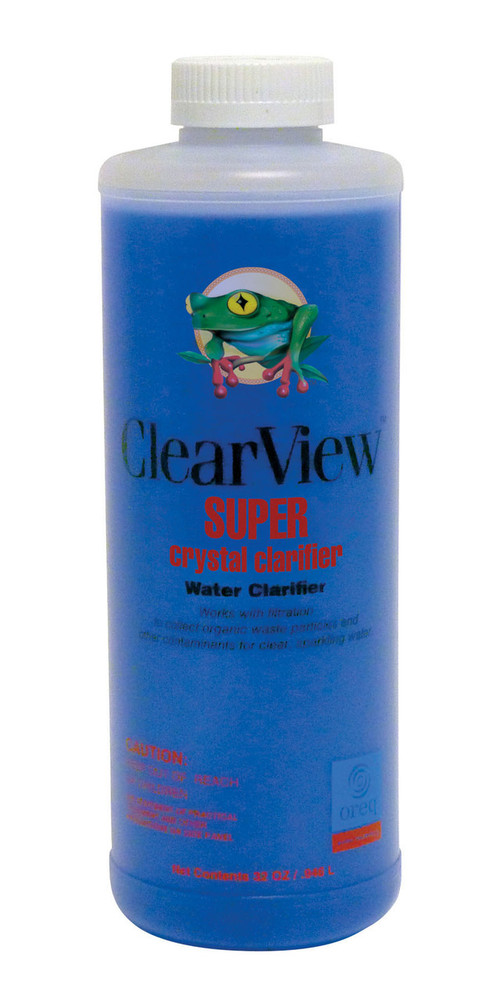 ClearView SUPER Crystal Clarifier - 1 qt  -  CVLSCCQT12