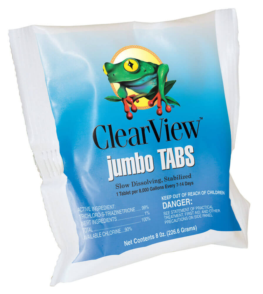 "ClearView Jumbo Tab 3"" - Individual  -  CVTLCR048"