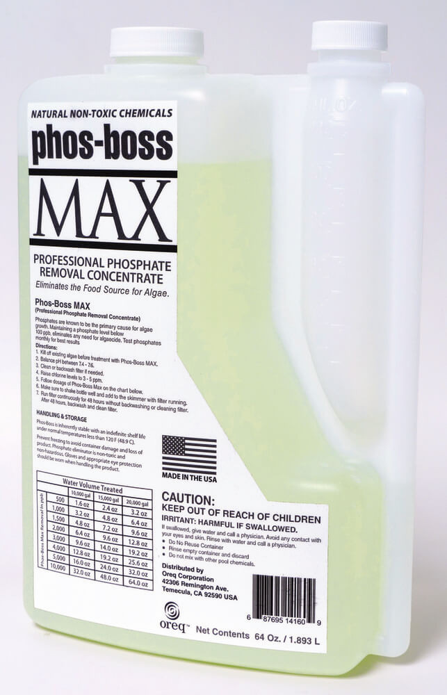 ClearView Phos-Boss MAX - 1/2 gal  -  PBML05G6