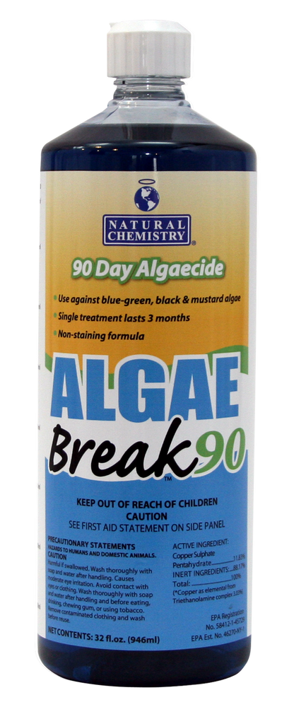 Natural Chemistry Algae Break 90 - 1 qt  -  07600