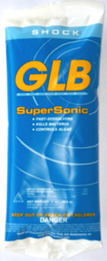 GLB SuperSonic chlorine shock - 24 pack