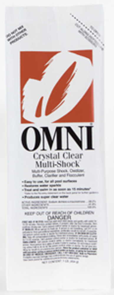Omni Crystal Clear Multi-Shock - 36 x 1 lb  -  23032-36